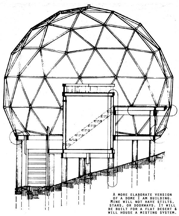 Geodesic Dome Template: Wizzard Oasis